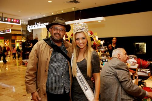 PIcture of myself and Katrina Kneer, Miss Teen America 2011